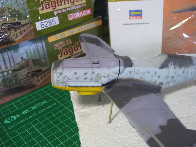 Messerschmitt Bf 109 G-6 Hasegawa 1/32 Alfred Grislawski - Página 2 Post-sombreado3