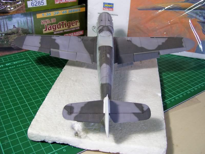 Messerschmitt Bf 109 G-6 Hasegawa 1/32 Alfred Grislawski - Página 2 Post-sombreado5