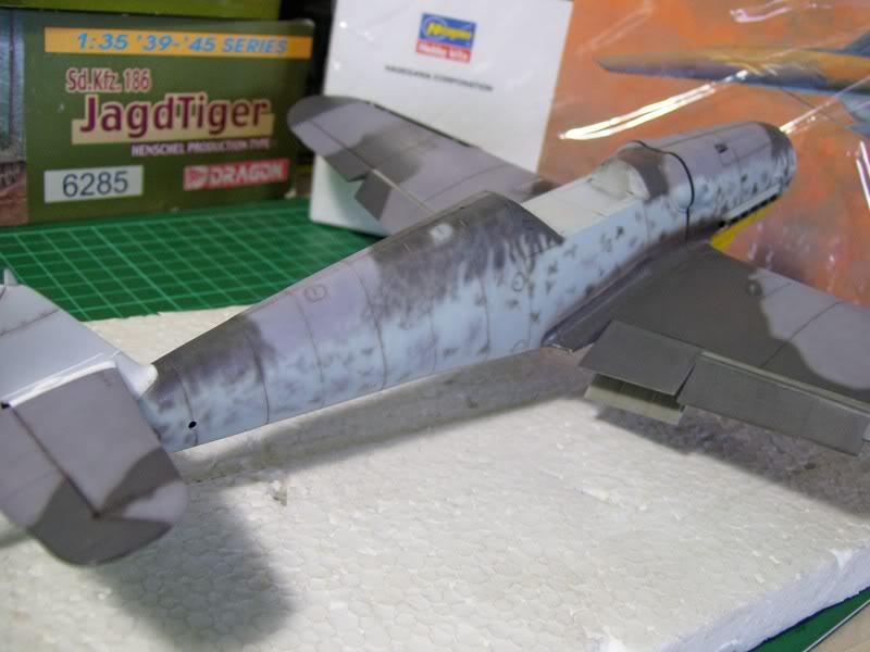 Messerschmitt Bf 109 G-6 Hasegawa 1/32 Alfred Grislawski - Página 2 Post-sombreado7