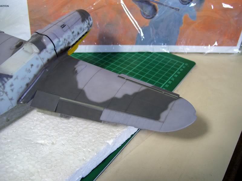 Messerschmitt Bf 109 G-6 Hasegawa 1/32 Alfred Grislawski - Página 2 Post-sombreado8