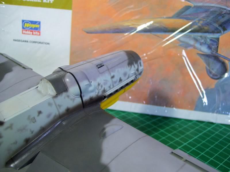 Messerschmitt Bf 109 G-6 Hasegawa 1/32 Alfred Grislawski - Página 2 Post-sombreado9