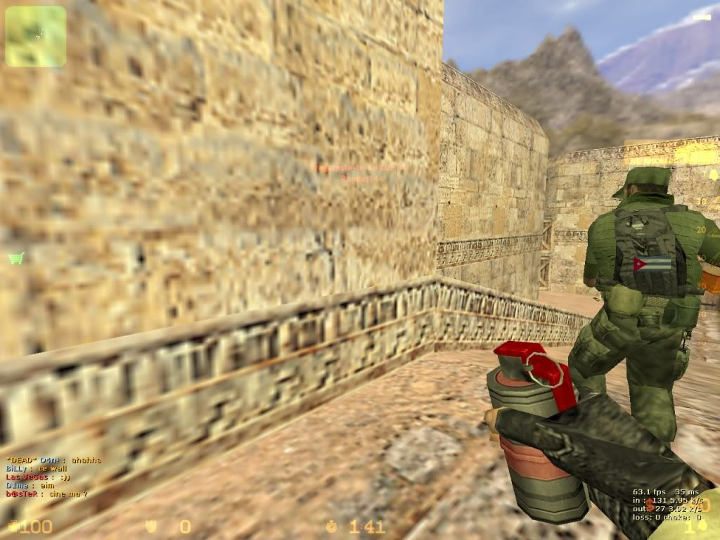 Counter-Strike DeMoS v1.00   De_dust20000