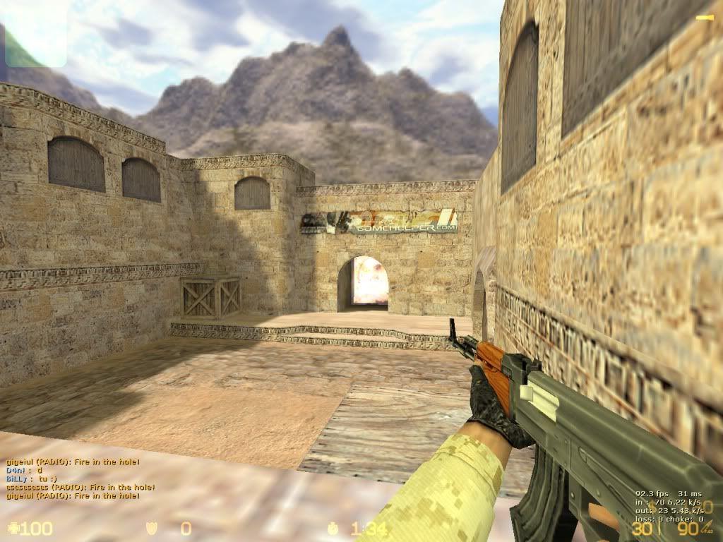 Counter-Strike DeMoS v1.00   De_dust20001