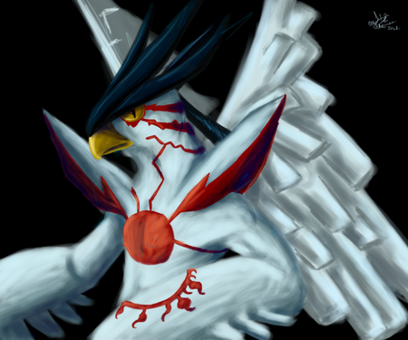 El oraculo del pollo blanco! Chronomon_holy_mode_by_kiminuria-d55m5hh50