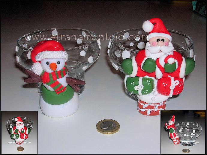 Portacandele natalizie Portacandele-natale