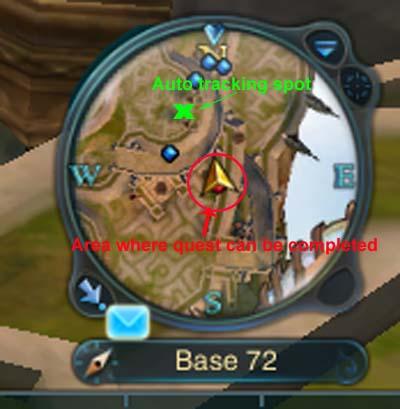 GBQ Energy Point quest guide Minimap