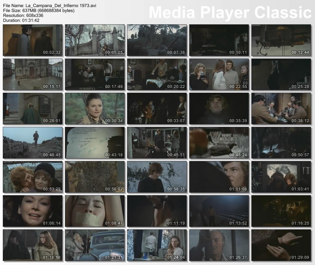 La campana del infierno (1973) [DVDRip][Español][Terror][MU] Campana