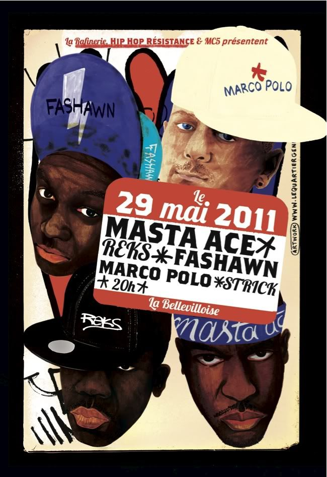 [Concert] Marco Polo,Masta Ace + VA @Bellevilloise (29/05) Rectomastaace-Reks