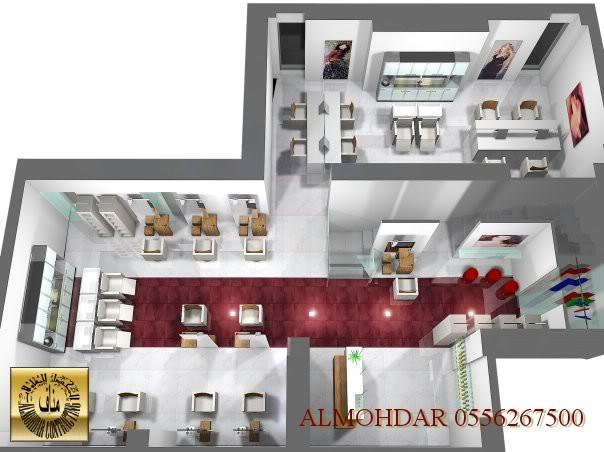 تصميم ديكور داخلي مشاغل نسائيه 602 Almohdarown0com25
