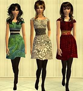 Index of Women's Dresses BFSIndex3