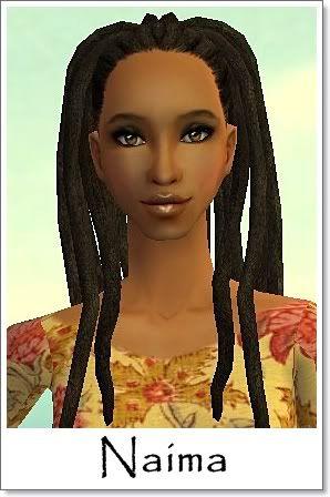 N - Adult Female Sims Index08AF26Naima