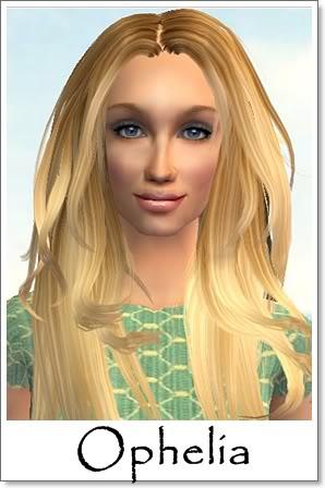 O - Adult Female Sims Index08AF64Ophelia