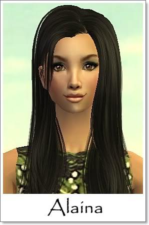 A - Adult Female Sims Index09AF27Alaina