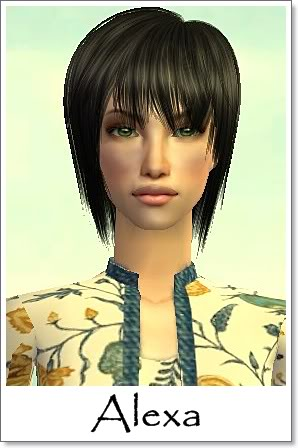 A - Adult Female Sims Index09AF34Alexa