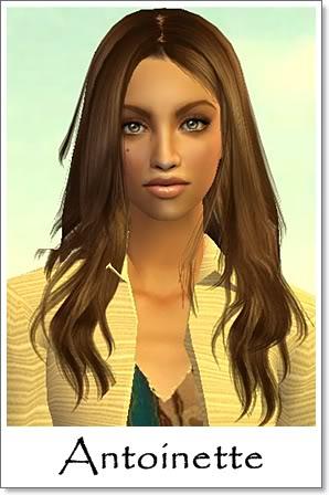 A - Adult Female Sims Index09AF55Antoinette
