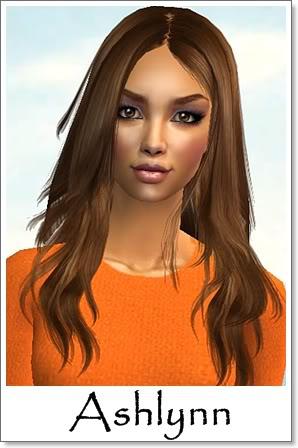 A - Adult Female Sims Index09AFAshlynn