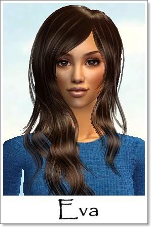 E - Adult Female Sims Index09AFEva