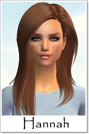 H - Adult Female Sims Index09AFHannah