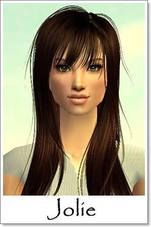 J - Adult Female Sims Index10AF119Jolie