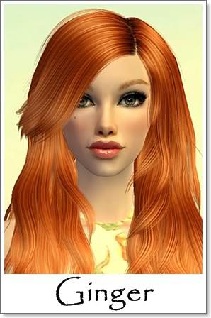 G - Adult Female Sims Index10AF200Ginger