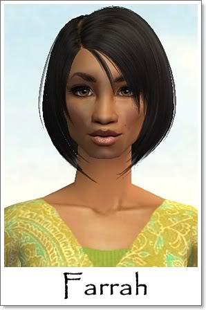 F - Adult Female Sims Index10AF35Farrah