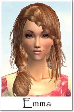 E - Adult Female Sims Index10AF40Emma
