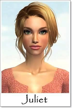 J - Adult Female Sims Index10AF45Juliet