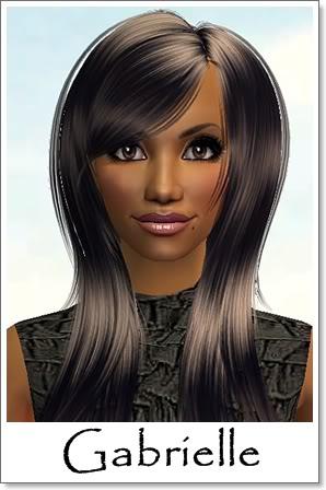 G - Adult Female Sims Index10AF52Gabrielle
