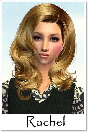 Rachel - Pretty Caramel Blonde with Greyish Eyes Index10AF67Rachel