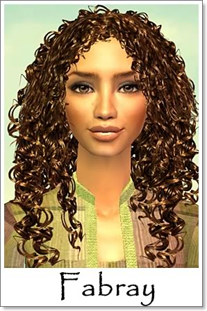 F - Adult Female Sims Index10AF91Fabray