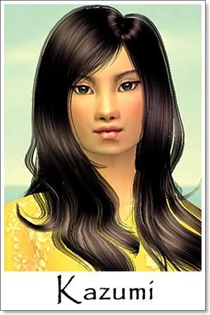 K - Adult Female Sims Index10AF97Kazumi