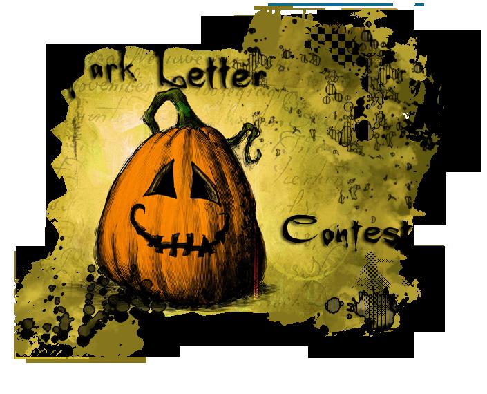 Dark Letter Contest  DarkL_contest