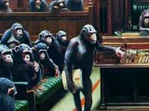 How apropos: Banksy painting of Parliament as monkeys sells for record sum amid Brexit drama 538banksymonkeyparliamentcanvasp-2