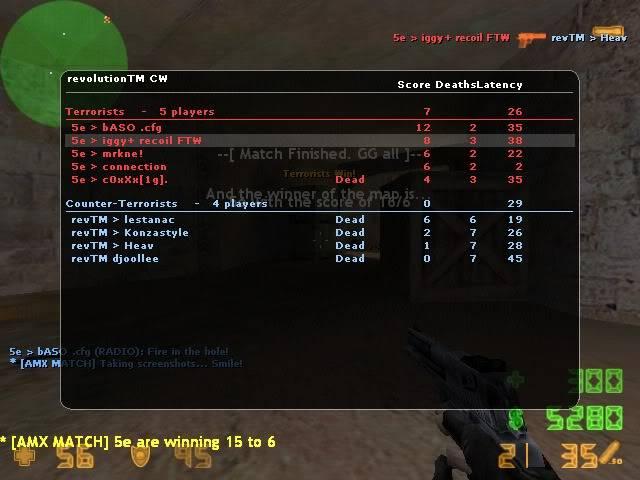 Five Elements vs Revolution Team De_dust20036-2