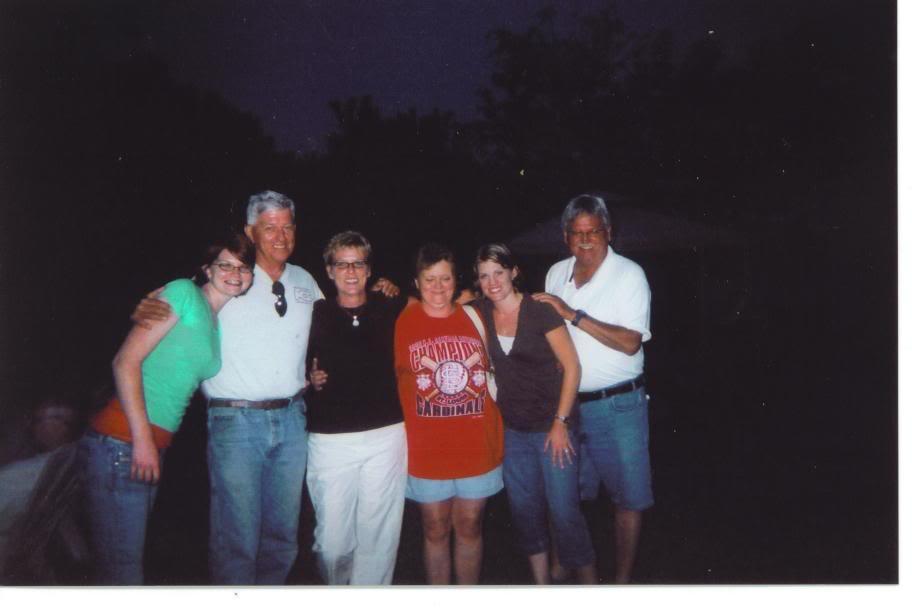 J&R at Amanda's graduation 2007 (Erin, Mike, Merlosa, Rhonda, Amanda, Jer) AmandaGraduationParty2