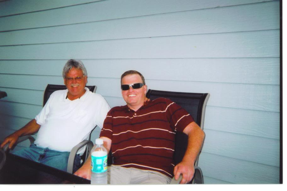 Jerry and nephew Chad in FL May 2007 AmandaGraduationPartyJerryChad