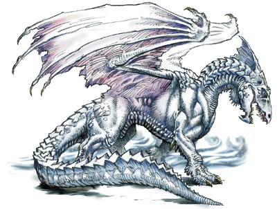 Los Dragones Blancos Dragones-cromticos-blancos-de-krynn