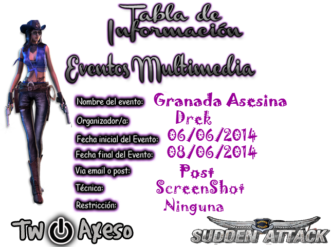 [SA][TwoAxeso Multimedia] Granada Asesina [06/06-08/06] Tablamultimediagranadaasesina_zpsca4b297b