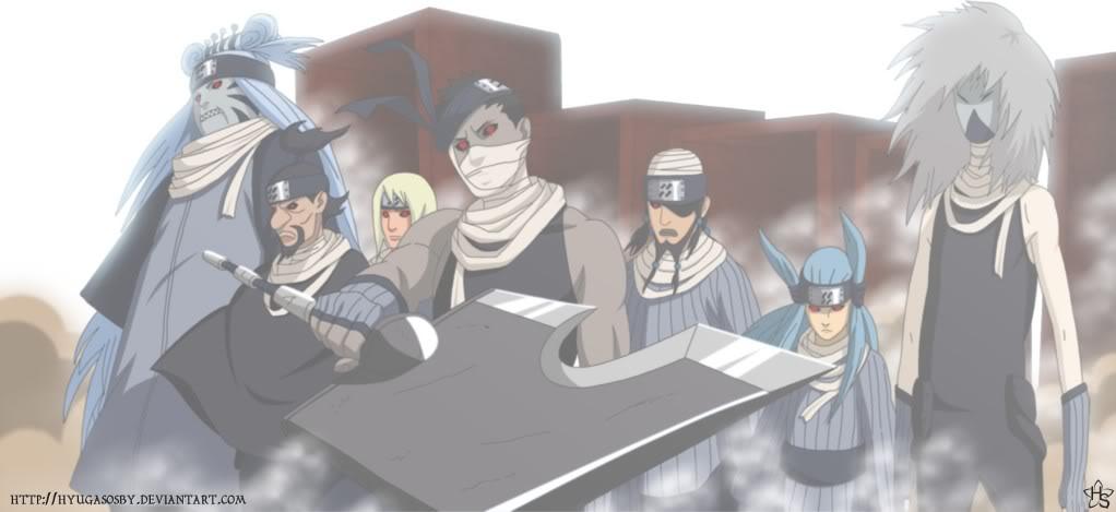[Naruto] Thất kiếm làng sương mù HvevS