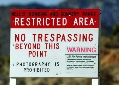 Los Diez Lugares Más Secretos y Macabrones Area51prohibidojpg