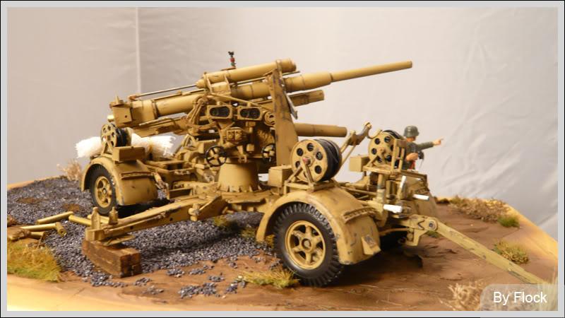 88mm Gun Flak 37 - [TAMIYA  1:35] - 10/03/09 - mise en place et Diorama... Diorama_01006