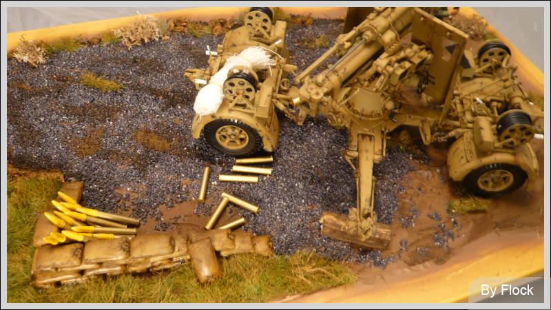 88mm Gun Flak 37 - [TAMIYA  1:35] - 10/03/09 - mise en place et Diorama... Diorama_01007