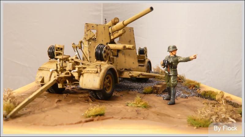 88mm Gun Flak 37 - [TAMIYA  1:35] - 10/03/09 - mise en place et Diorama... Diorama_01009