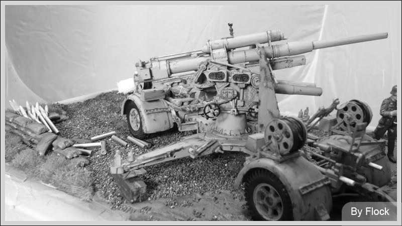 88mm Gun Flak 37 - [TAMIYA  1:35] - 10/03/09 - mise en place et Diorama... Diorama_01033