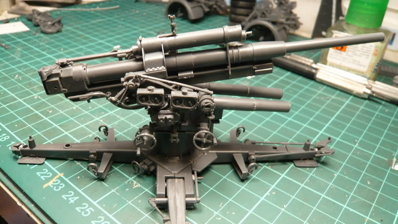 88mm Gun Flak 37 - [TAMIYA  1:35] - 10/03/09 - mise en place et Diorama... Flak_37_02004
