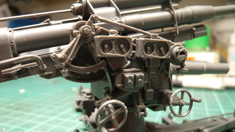 88mm Gun Flak 37 - [TAMIYA  1:35] - 10/03/09 - mise en place et Diorama... Flak_37_02006