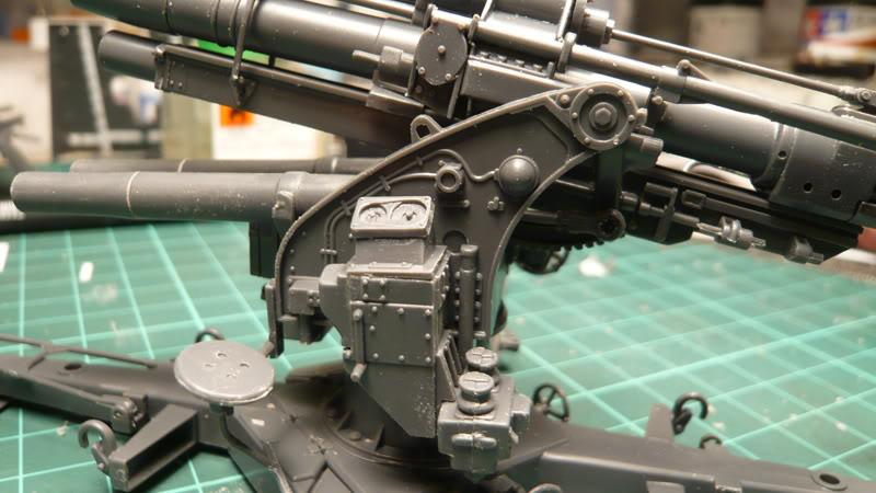 88mm Gun Flak 37 - [TAMIYA  1:35] - 10/03/09 - mise en place et Diorama... Flak_37_02008