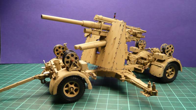 88mm Gun Flak 37 - [TAMIYA  1:35] - 10/03/09 - mise en place et Diorama... Flak_37_02011-1