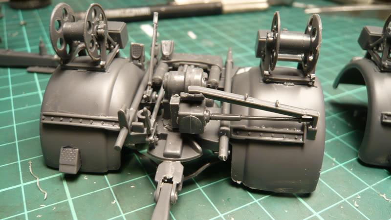 88mm Gun Flak 37 - [TAMIYA  1:35] - 10/03/09 - mise en place et Diorama... Flak_37_02011