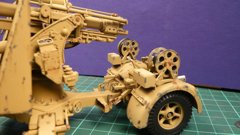 88mm Gun Flak 37 - [TAMIYA  1:35] - 10/03/09 - mise en place et Diorama... Flak_37_02014-1